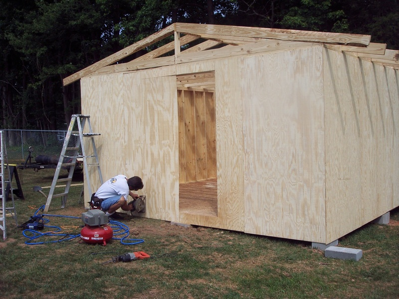 Plan From Making A Sheds Storage Shed 20 X 20 Patio Details
